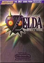 Official Nintendo 64 Players Guide Zelda Majoras Mask For Sale