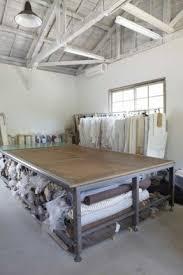 Large craft table with storage