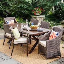 target threshold outdoor dining set. belvedere wicker patio furniture collection - threshold™ target threshold outdoor dining set m