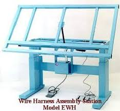 ergonomic wire harness workbench electric wire harness bench