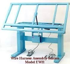 ergonomic wire harness workbench electric wire harness bench