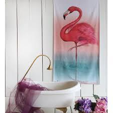 <b>Пляжное полотенце</b> Фламинго <b>70х140</b> - купить недорого в ...