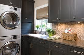dark gray cabinets. Simple Dark Laundry Room Remodel With Dark Gray Cabinets From Dura Supreme Cabinetry And Dark Gray Cabinets