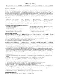 Sample Resume Electrician Journeyman Electrician Resume Sample ...