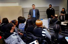 positions for employment at blue a during an informational session at the workforce innovation business center at the mills at jersey gardens mall