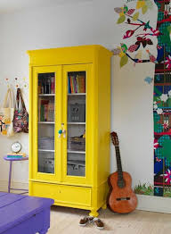 colorful furniture. Colorful Furniture Youth Room Yellow Closet