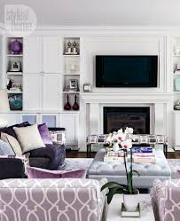 Mauve Living Room Interior Refined Elegance Style At Home