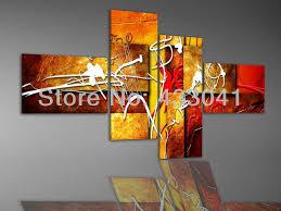 4 piece wall art set