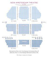 Frozen Musical Seating Chart Aladdin New Amsterdam Theatre Tickets