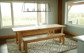 design table sets round rustic seater square cover rectangular large trestle dining costco ana white woodworking