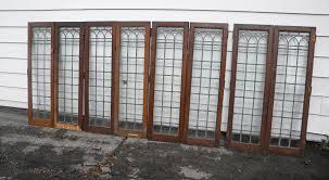 antique cabinet doors. antique leaded cabinet doors