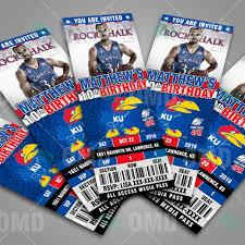 Ku Basketball Seating Chart Kansas Jayhawks Basketball Sports Party Invitations Sports