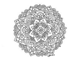 Small Picture Hard Mandala Coloring Pages Free Hard Mandala Coloring Pages For