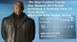 Samuel L Jackson, Capital One Contract. by peterbadgely on DeviantArt via Relatably.com