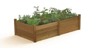 h rustic raised garden bed
