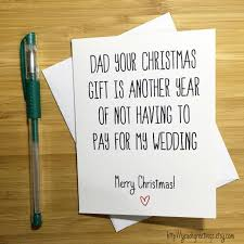 Photo Christmas Card Christmas Card For Dad Funny Christmas Card Father Merry