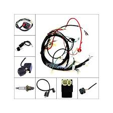 tdrmoto full electric wiring loom harness for 150cc buggy use gy6 tdrmoto full electric wiring loom harness for 150cc buggy use gy6 type engine electric start kandi go kart dazon coil ac cdi box included