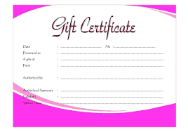 Free Gift Voucher Template For Word Christmas Gift Certificate Template Word Free Download