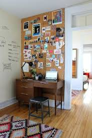 view in gallery entire wall tiled with cork board and lined mini lights cork board for office l53 board