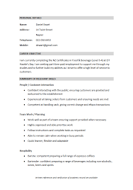 Simple Cv Sample Cv Formats And Examples