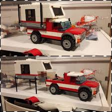 Lego pickup truck camper. This is a lego truck and camper that I ...