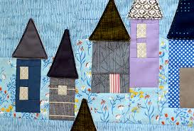 <b>little village</b> — Stitched in <b>Color</b>
