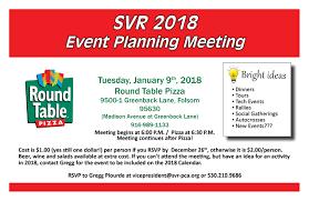 svr event planning meeting 2018