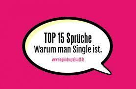 Voting Top 15 Sprüche Warum Man Single Ist