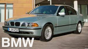 The BMW 5 Series History. The 4th Generation (E39). - YouTube
