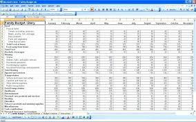 Household Expenses Spreadsheet Excel Household Budget Sheet Template Stagingusasport Info