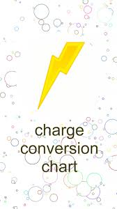 Charge Conversion Chart 1 0 Free Download