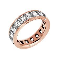 michael kors brilliance rose gold crystal set ring product code mkj4752791