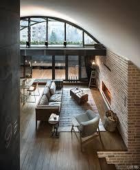 modern loft furniture. beautiful loft living ideas modern conversion design blending new and recycled materials furniture k