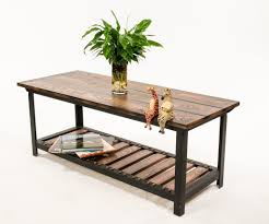 Industrial Style Coffee Tables Custom Made Vintage Industrial Style Coffee Table By Against The