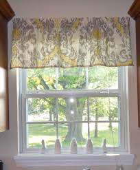 Window Valance For Kitchen Quick And Easy Window Valance