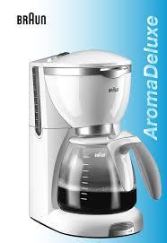 Clean Light On Braun Coffee Maker Braun Coffeemaker Kf550 User Guide Manualsonline Com