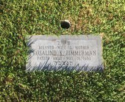 Rosalind Wolf Zimmerman (1911-1980) - Find A Grave Memorial