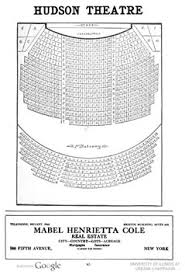 Hudson Theatre Seating Chart Hudson Theatre New York Historic Theatre Photography