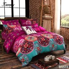 boho style bedding bedding sets style duvet cover full queen size double cotton bed sheets bedspread