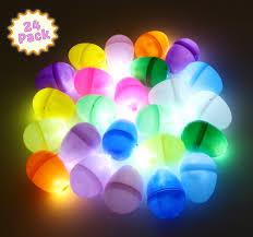 Easter Lights Amazon Easter Light Up Glow In The Dark Egg Hunt Reusable Easter Decor Lights Game