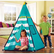 Discovery Kids Turquoise Adventure Teepee Tent - Free Shipping On Orders  Over $45 - Overstock.com - 17653840