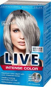 Schwarzkopf Live Color U71 Metallic Silver In 2019 Grey