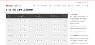 Work Time Card Calculator Top 5 Timesheet Calculators To Sum Up Working Hours