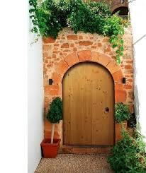 devon 3ft high arched wooden garden gate