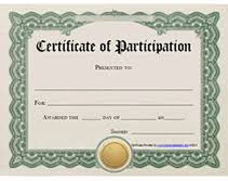 Certificate Of Participation Templates Printable Certificates Of Participation Awards Templates