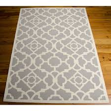 home ideas popular outdoor rug 6x9 rugs usa silver mentone reversible striped bands indoor from
