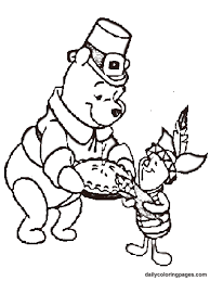 Small Picture winnie the pooh thanksgiving coloring pages 03 Coloring Kids