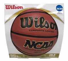 wilson composite leather ncaa replica game ball official basketball 29 5