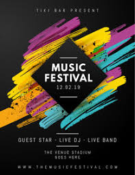 Concert Poster Design Customize 9 360 Concert Band Templates Postermywall