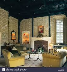 Traditional Interior Design For Living Rooms Traditional British Living Room Interior Design Stock Photo